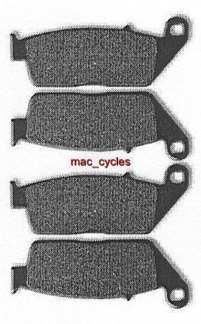 Honda Disc Brake Pads CB400 Super Four 1992-1995 Front (2 sets)