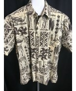 KAHALA ® John Severson Men's Hawaiian Aloha Shirt 100% Cotton XL Surf Ca... - $34.64