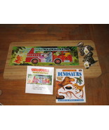 Dinosaur Fun Science Book Floor Puzzle Retired Disney World dinosaurs - $20.00