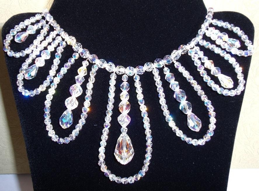 Swarovski Necklace Handmade Imitation