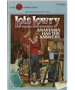 Anastasia Has The Answers by Lois Lowry 1986 Vi... - $2.99