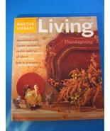 Magazine Martha Stewart Living November 2002 - $10.00