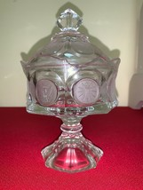 Vintage 1886 Olympic Candy Dish With Candle Holder - $26.30