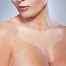 Reusable Anti Wrinkle Chest Pad Silicone Transparent Removal Patch Face ... - $9.50