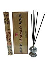 Hem Sandal Handcrafted Scents Incense Sticks Fragrance Agarbatti 12 Packs - $19.79