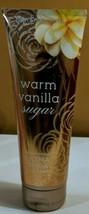 Bath & Body Works Warm Vanilla Sugar Body Cream-8oz-New - $14.20