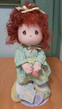 "Precious Moments by Applause Curly Red Hair friendship Doll 11"" h  green... - $37.37"