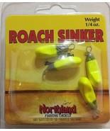 Northland Fishing Roach Sinker BWS14-10-Chartreuse-1/4 OZ - RARE-SHIPS N... - $18.69