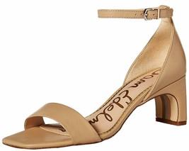 Sam Edelman Ankle Strap Heeled Sandals - Holmes Nude 8 M - $69.29