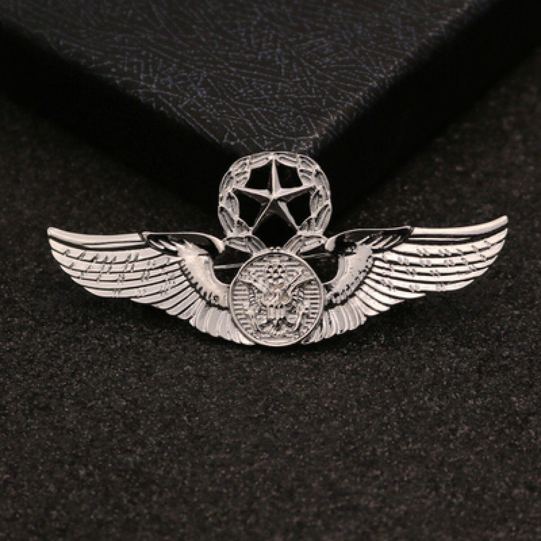 New Brooch Pin Men Lapel Suit Stick Collar European And American Militant Badge image 7