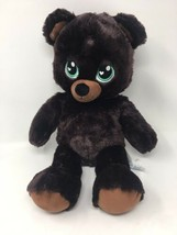 "Build A Bear Teddy Bear Plush Dark Brown Chocolate Sweet Scent 16"" Retir... - $22.28"