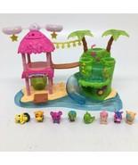 Hatchimals Tropical Party Playset Lights & Sound + 8 Figures - $36.45