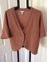 CHICO'S FABULOUS WOOL BLEND ONE BUTTON CARDIGAN SWEATER 4 - $10.03