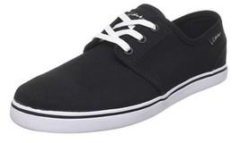 C1RCA Men's Crip Size US 12 M (D) EU 45 Skate-boarding Shoe Black White Canvas
