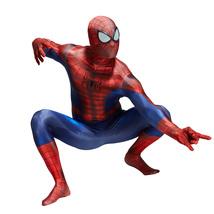 Spiderman Spandex Bodysuit for Kids Halloween Cosplay Costume Superhero ... - $49.99