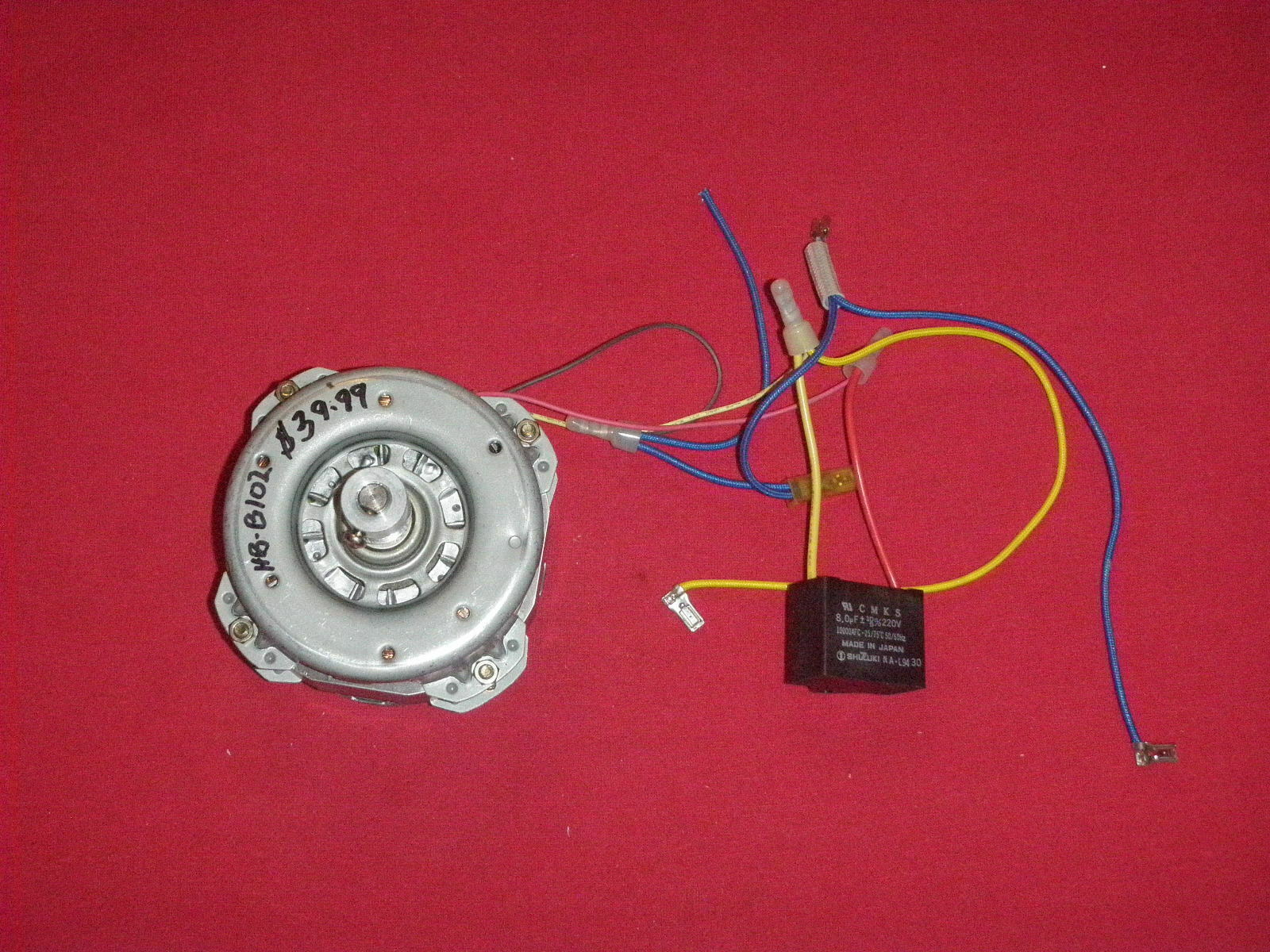 Primary image for Hitachi Bread Machine Motor & Capacitor for HB-B102