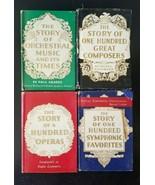 4 book set- small books- Paul Grabbe, Helen Kaufmann, Felix Mendelsohn - $9.75
