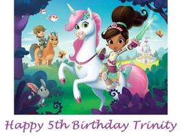Nella the Princess Knight Party  Edible image Cake topper decoration - $8.99