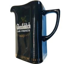 Single Malt GLENFIDDICH Cask Strength Ceramic PITCHER Cup Tumbler Vase - $24.99