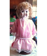 Brinn's 1986 Pantaloon Musical Doll with Stand - $9.49