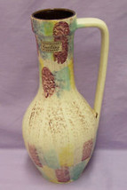 TONNIESHOF WEST GERMANY CARSTENS URN POTTERY COLORFUL - $15.83