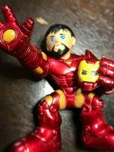 Marvel Super Hero Squad Iron Man Holding Helmet 2008 image 6