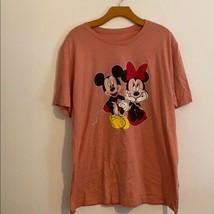 Disney Mickey & Mini Mouse Xxl Short Sleeve Shirt - $33.66