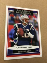 NM to Mint 2006 Tom Brady League Leaders Card 280 Topps Ready to Grade! - $9.49