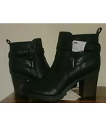 "Guess Brand ~ Faux Leather ~ Women's Size 10 Boots ~ 3.5"" Chunky Heel ~ ... - $59.40"