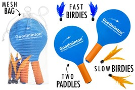 The World's Easiest Racquet Game Goodminton Sport Outdoor Toy Game - $34.08