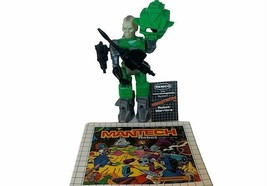 Mantech Remco Robot Android Action Figure Toy Man Tech COMPLETE Doomtech... - $94.05