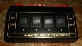 unbranded 4-way speaker control untested looks nice used - $29.69