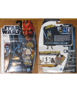 * Star Wars The Clone Wars CW14 Aayla Secura wi... - $7.50