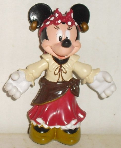 "MINNIE MOUSE PVC Figure GYPSY 2.5"" Disney"