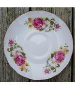 Old Queen Anne Bone China Saucer Pink Rose #QA2001 - $4.00