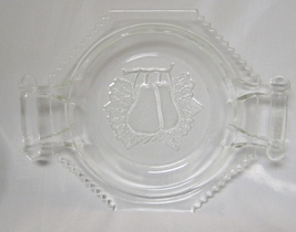 Jeannette Glass Clear Baltimore Pear Butter Dish Bottom Only - $25.00