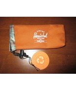 Herschel Sunglass / Eyeglass Case with pull string toggle ~ Awesome!  HE... - $9.99