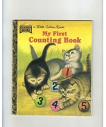 My First Counting Book, A Little Golden Book, 1984, Lilian M - $1.75