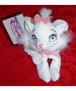 Disney Mini Bean Bag Marie white cat plush Aristocats movie - $10.00