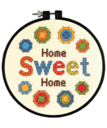 Sweet Home Learn-A-Craft Beginner Counted Cross... - $6.95
