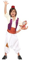 Disney Aladdin Kids costume unisex height 80-100cm 95811T from Japan New - $109.00