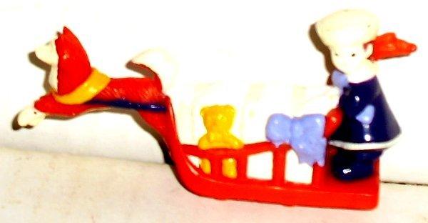 BALTO Figure ROSIE & JENNA Hardee's fast food toy