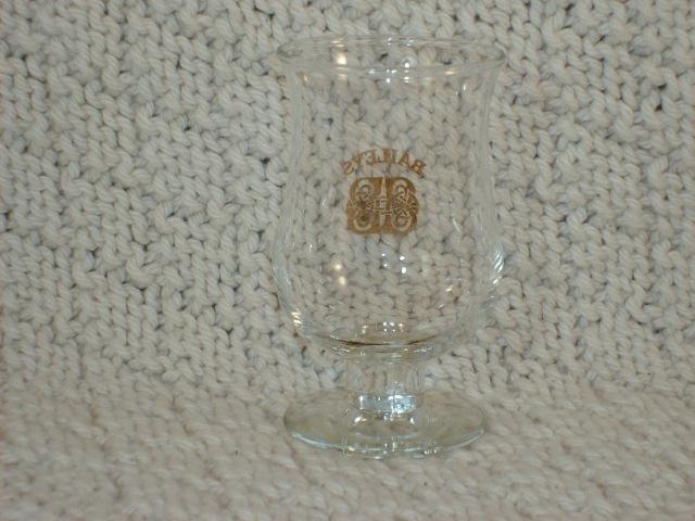 BAILEY'S STEMMED SHOT  GLASS #2 - GREAT ITEM!