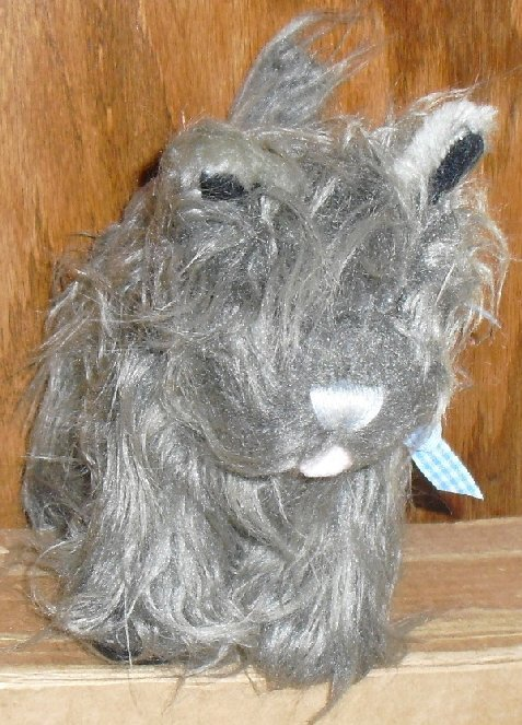 """WIZARD OF OZ Plush TOTO Cairn Terrier dog 8"""" long"""