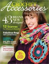 Interweave Crochet Accessories magazine 2010 scarves ...pics - $18.63