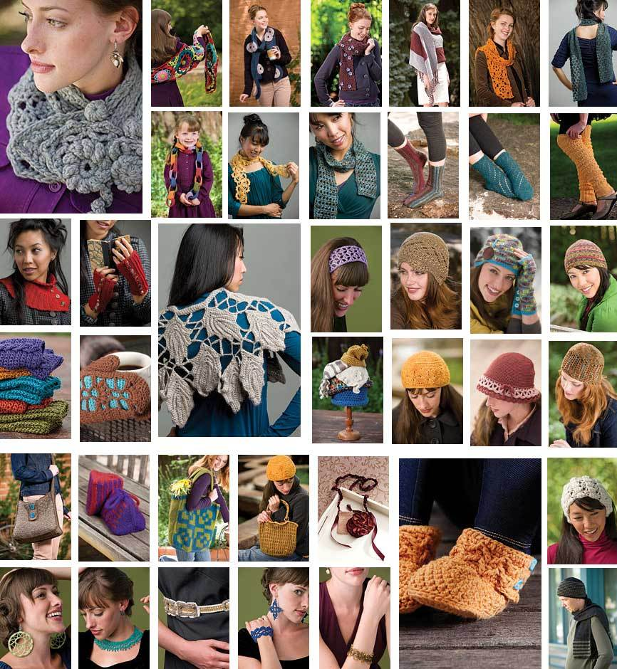 Interweave Crochet Accessories magazine 2010 scarves ...pics