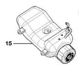 Ryobi, Craftsman 308675021 Fuel Gas Petrol Tank and Cap Assembly New genuine - $27.99