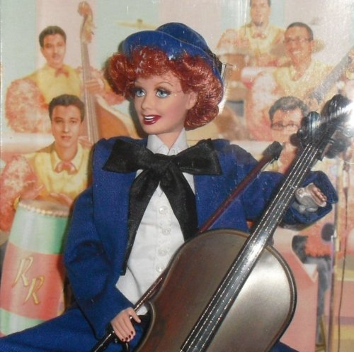 2007 CE BARBIE Doll  I LOVE LUCY The AUDITION Episode 6