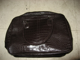 Estee Lauder Faux Alligator Handbag - $24.99