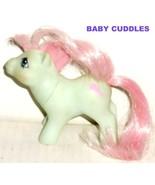 G1 Vintage 1985 My Little Pony MLP BABY CUDDLES - $16.99